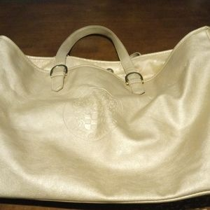 Vince Camuto Large Gold Metalic Tote